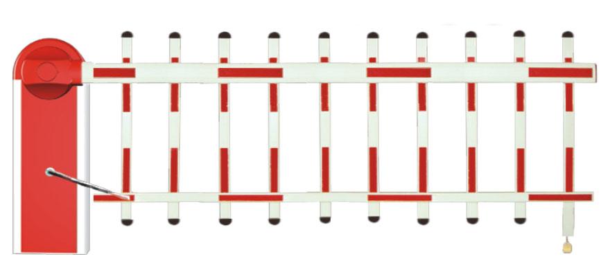 106单层栅栏道闸